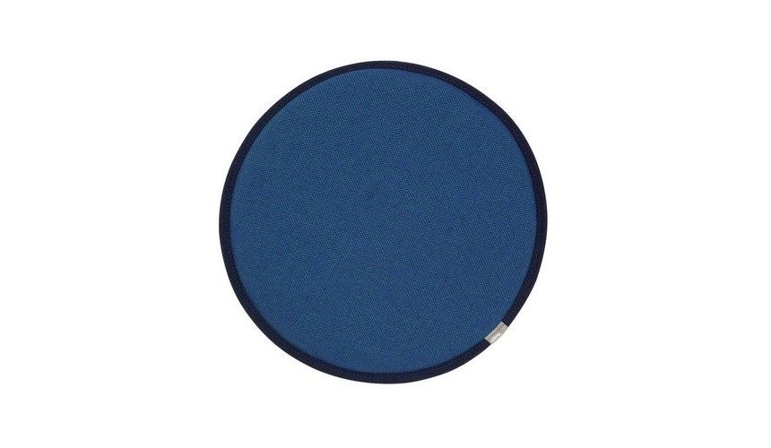 vitra seat dots sitzkissen fr eames plastic chairs blautannengrnoberseite stoff - Eames Chair Sitzkissen