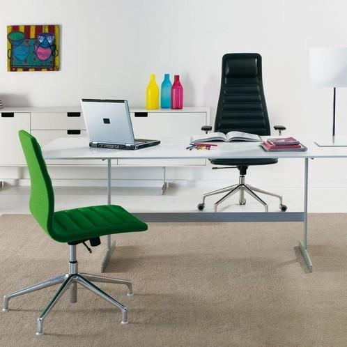 Cappellini - Lotus High Bürostuhl mit Rollen