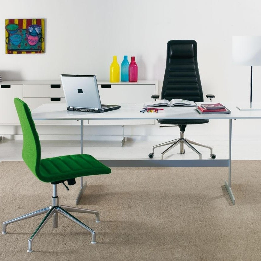 Cappellini   Lotus High Office Chair With Wheels ...