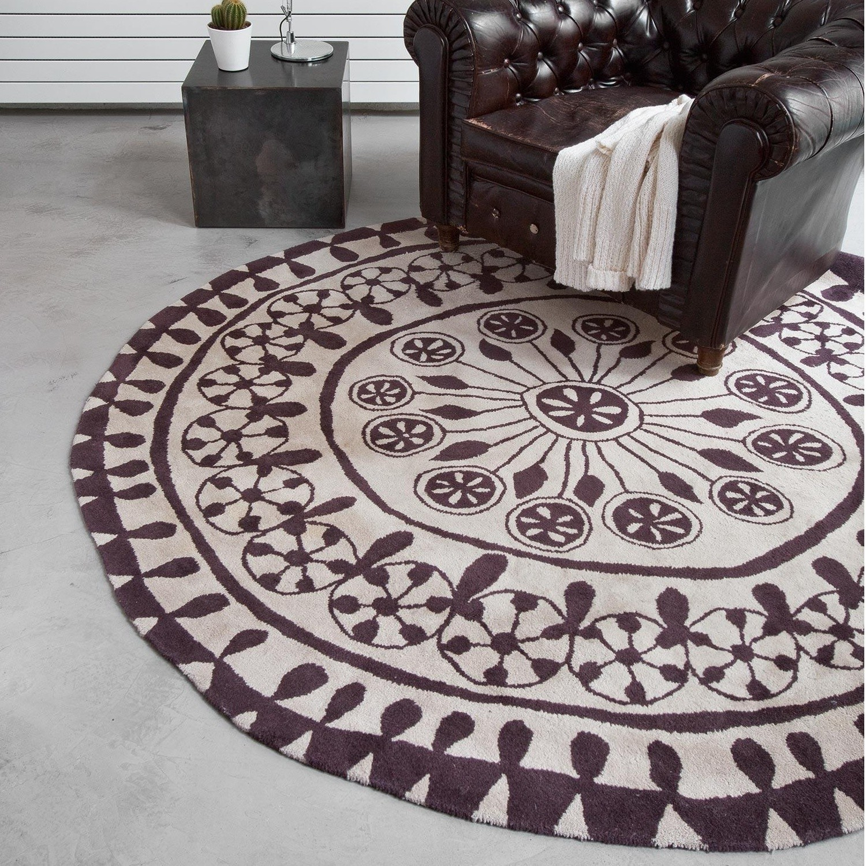 Nanimarquina Rangoli New Zealand Wool Carpet Round