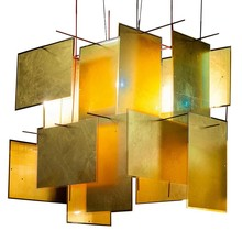 Ingo Maurer - 1000 Karat Blau Suspension Lamp