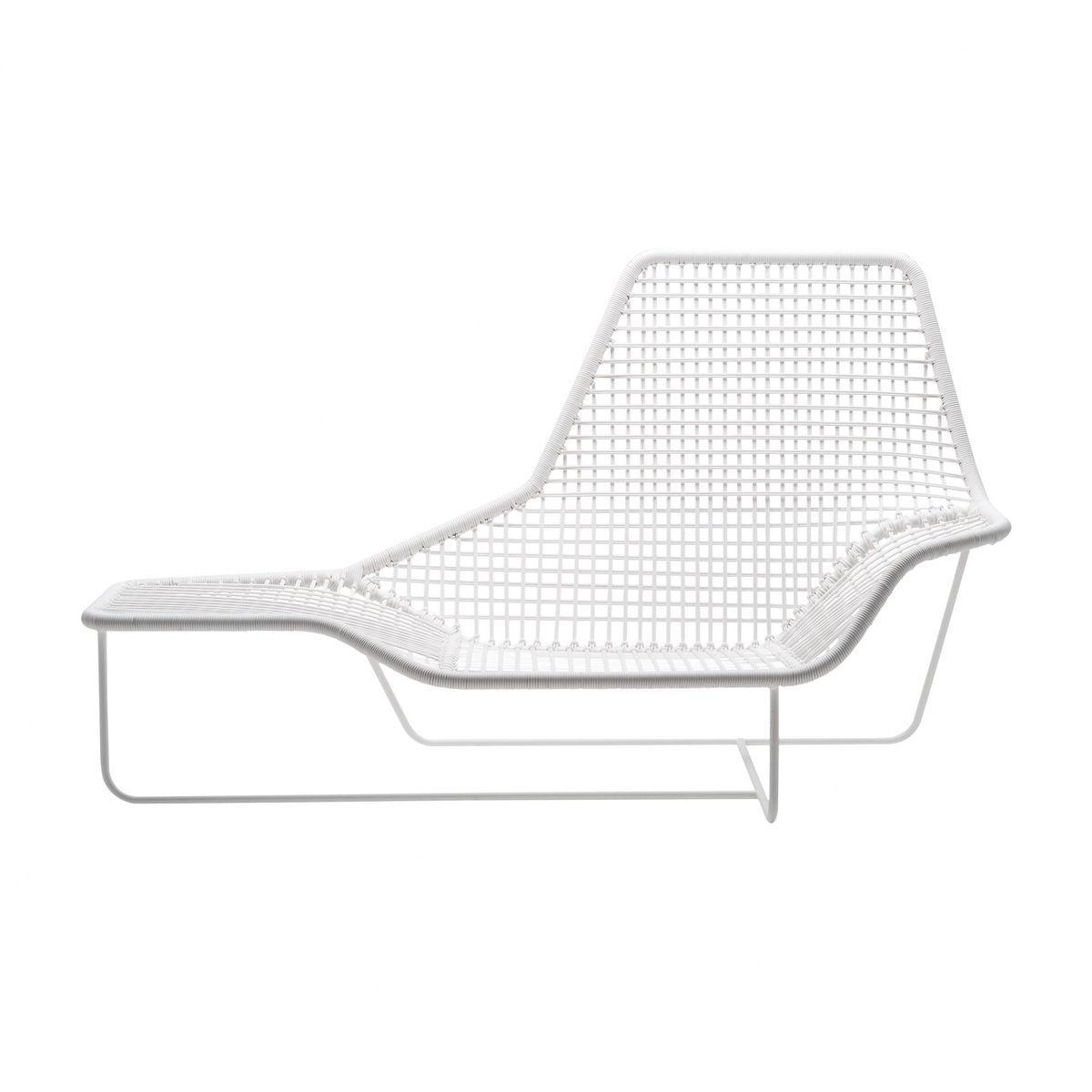 Schön Zanotta   Lama Outdoor Chaiselongue   Weiß/lackierter Stahl