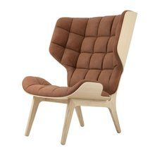 - Mammoth Fluffy Lounge Chair Leather
