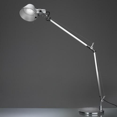 Artemide - Tolomeo Tavolo LED Tischleuchte - aluminium/matt/mit Tischfuß/BxH 78x64.5cm/3000K/410lm