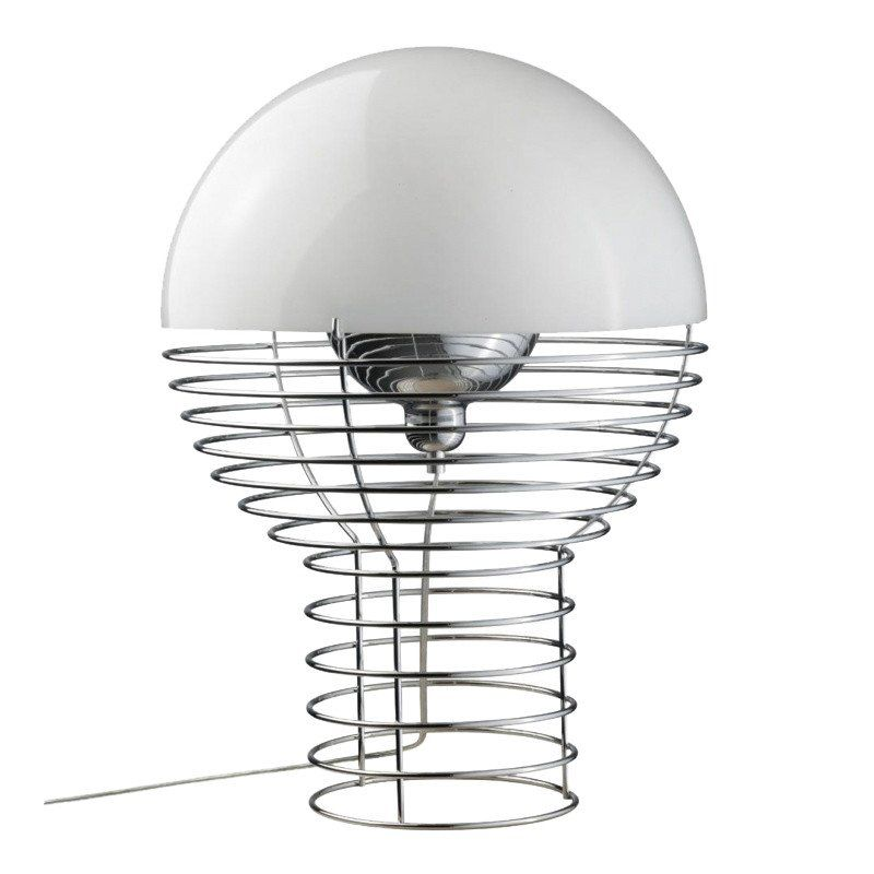 Wire panton table lamp verpan ambientedirect verpan wire panton table lamp whitesize greentooth Gallery