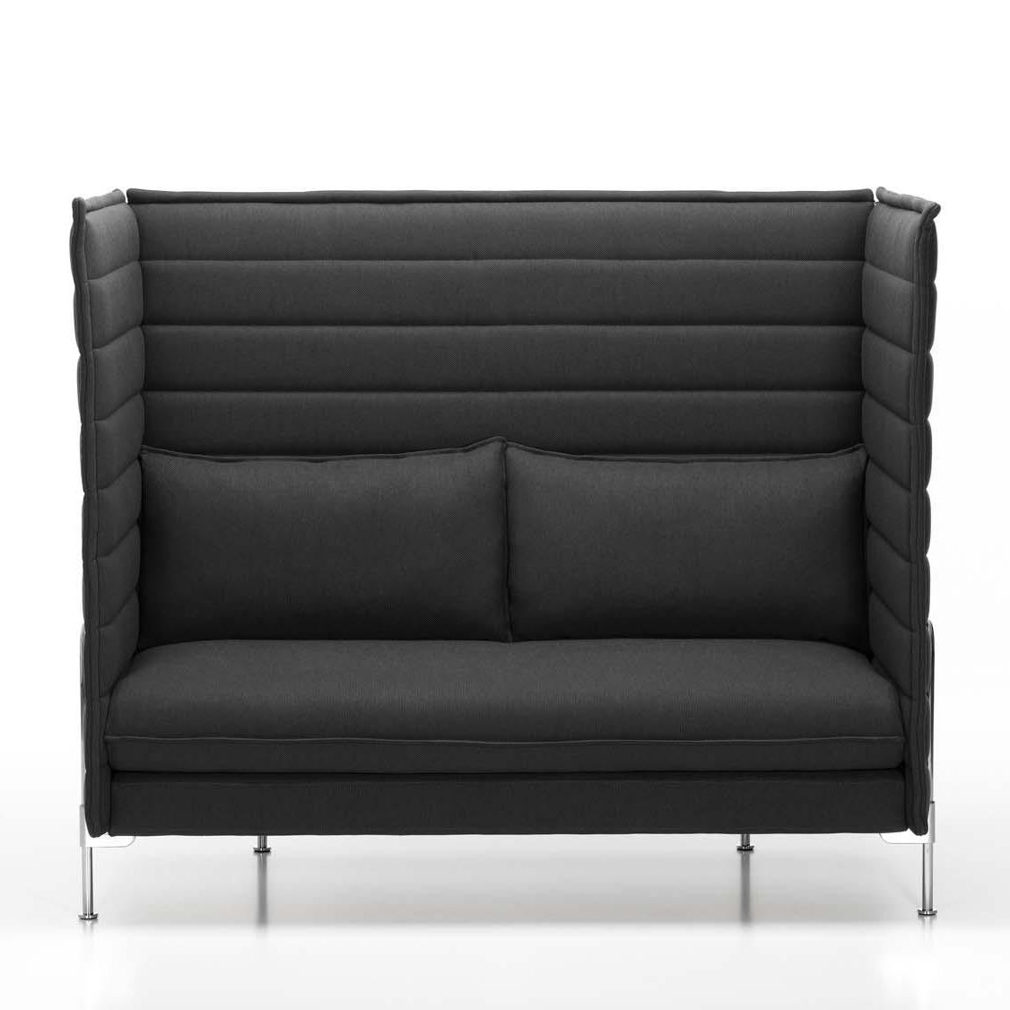 alcove highback 2 sitzer sofa vitra. Black Bedroom Furniture Sets. Home Design Ideas