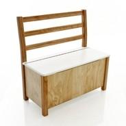 Kinderbunt - Nils Kid's Bench with Chest bicoloured