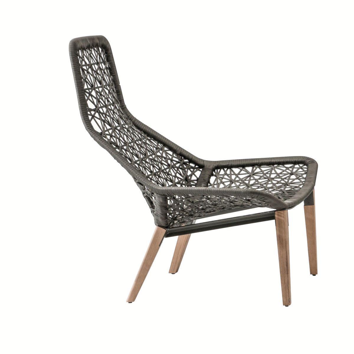 Maia relax gartensessel mit holzgestell kettal for Kettal maia chair