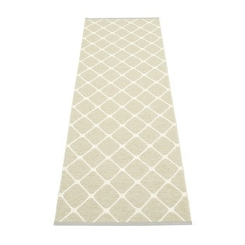pappelina - Rex Teppich 70x240cm - seegras beige grün/wendbar
