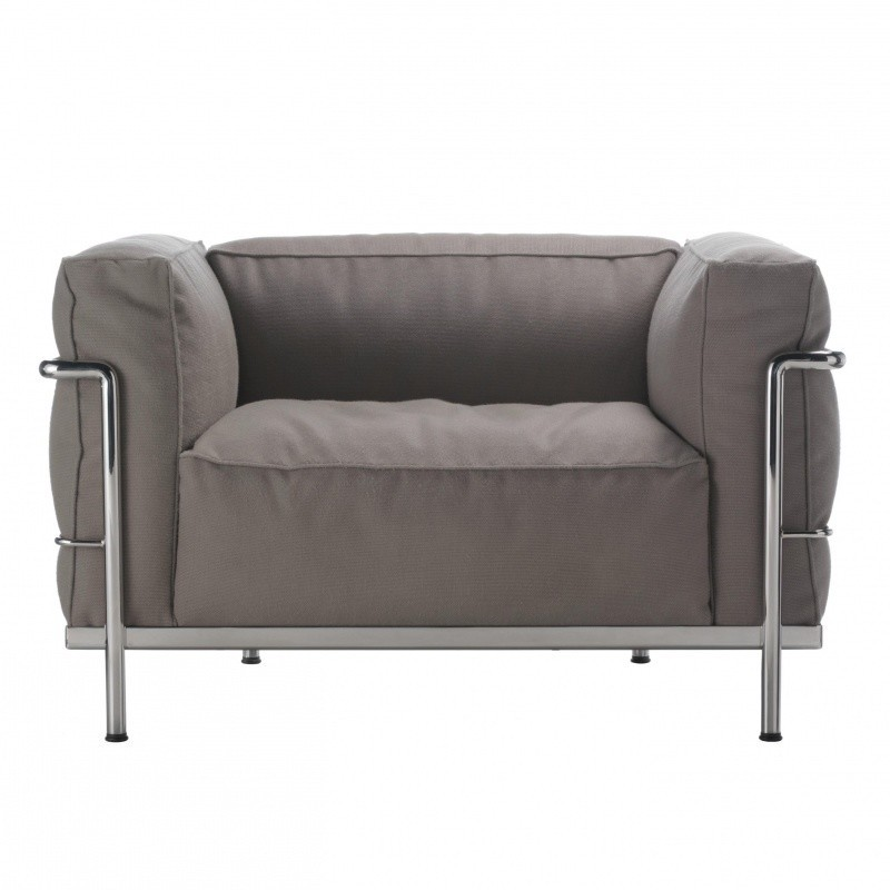 Cassina Le Corbusier Lc3 Outdoor Sessel Ambientedirect