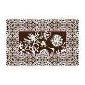 Moooi - Carpet Nr. 10 Teppich - weiß/braun/300x200cm