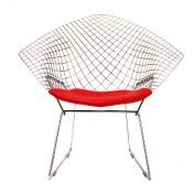 Knoll International: Brands - Knoll International - Bertoia Diamond Easy Chair