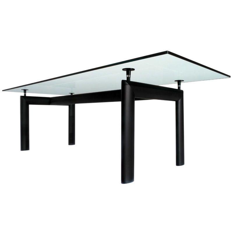 Cassina   Le Corbusier LC6 Table Cassina   Crystal Glass/225 X 85cm/frame