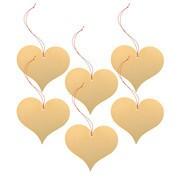 Vitra - Girard - Set de 6 ornaments cœur