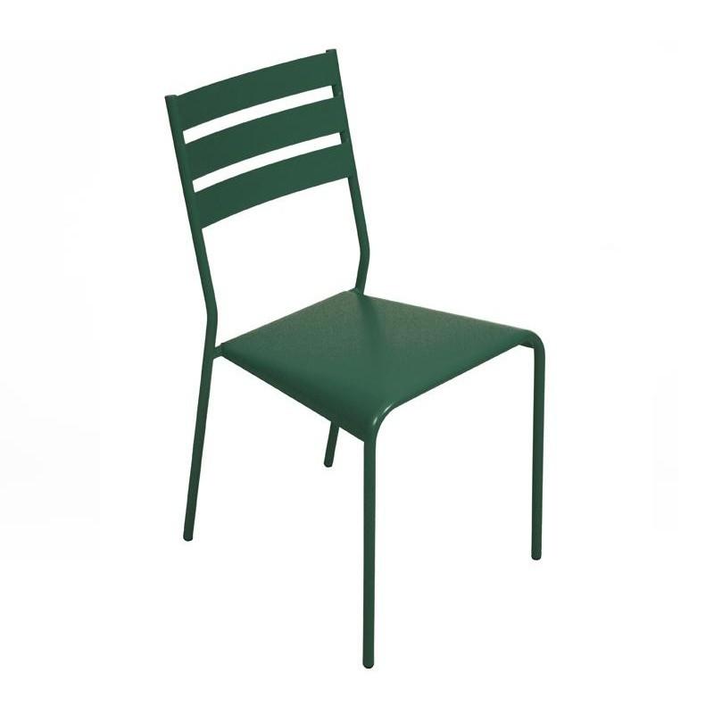 Fermob   Facto Gartenstuhl   Zederngrün/lackiert