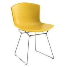 Knoll International - Bertoia Plastic Side Chair Stuhl Chrom