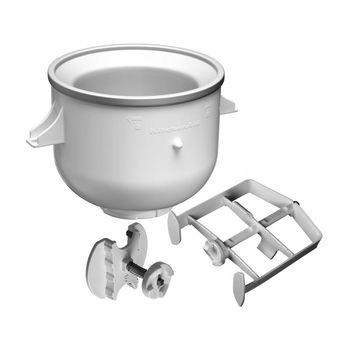 KitchenAid - Ice Cream Maker KICA0WH Eismaschine - weiß/Metall