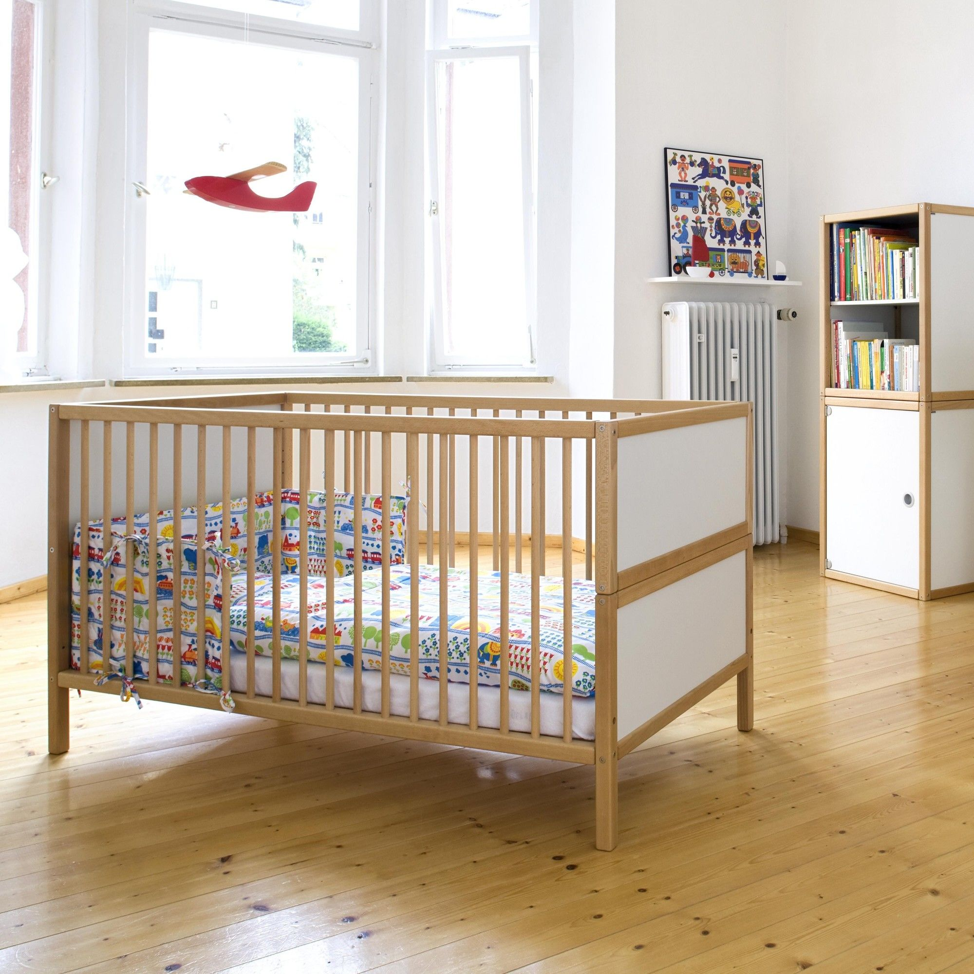 Babybett Schlafzimmer. Ikea Bettdecken Erfahrung Ideen