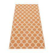 pappelina - Ants Teppich 70x180cm - hell orange/vanille/wendbar
