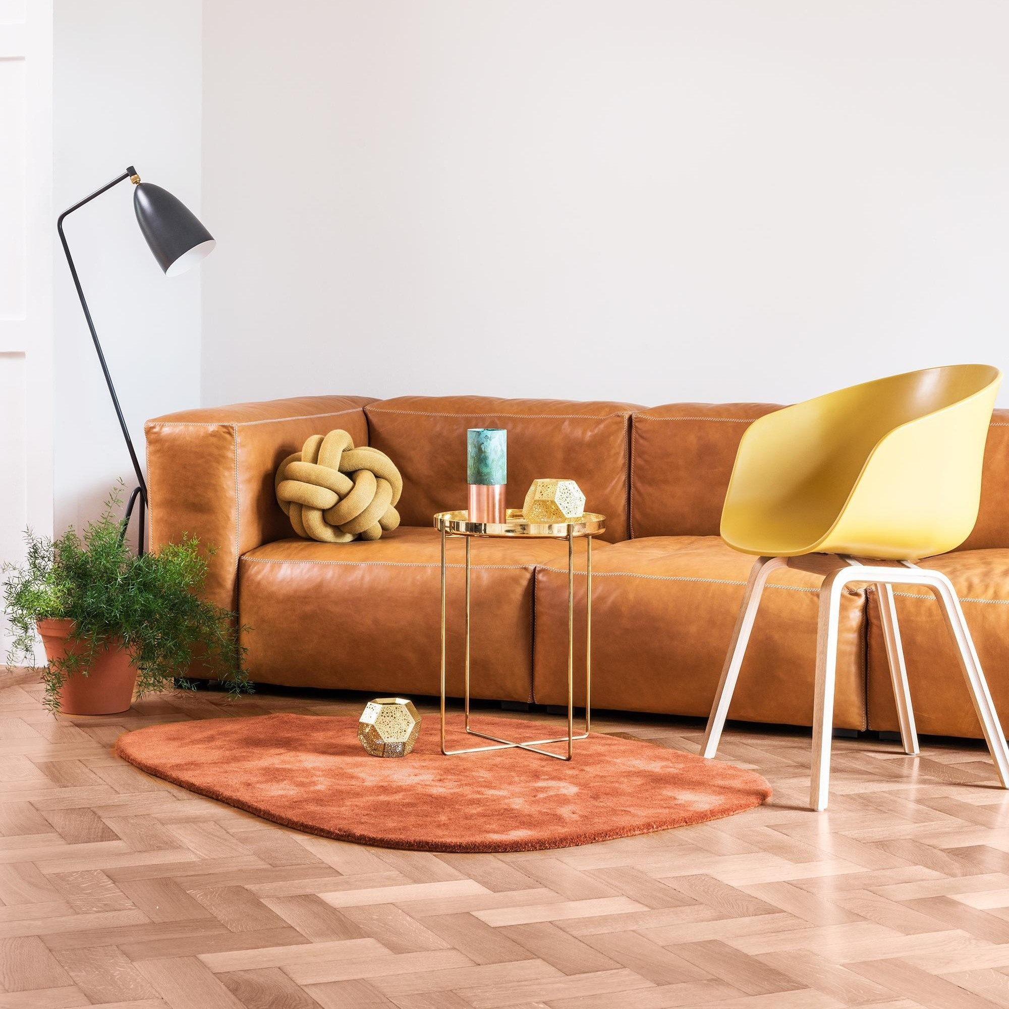 - HAY Mags Soft 3 Seater Sofa Leather 278.5x103.5x67cm AmbienteDirect
