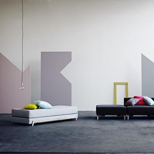 Softline - Frame Schlafsofa mit PU-Schaum-Matratze