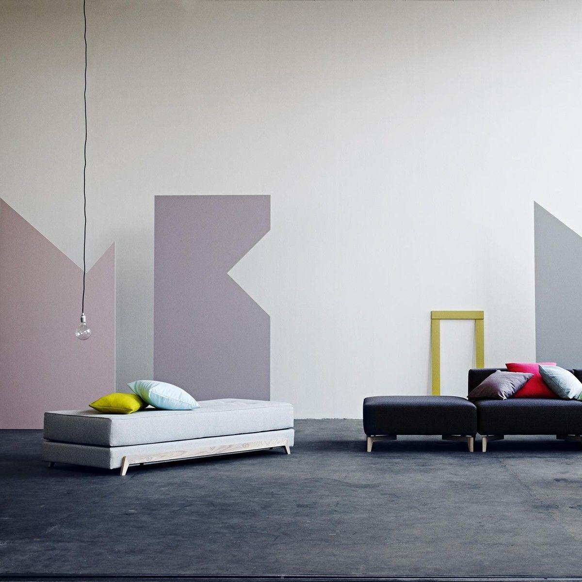 Frame canap lit avec matelas en mousse pu softline for Canape lit en anglais