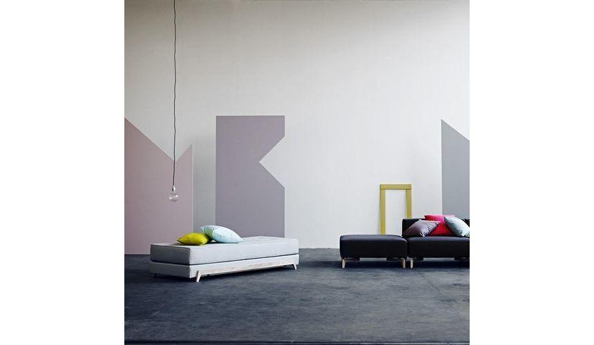 frame schlafsofa mit pu schaum matratze softline. Black Bedroom Furniture Sets. Home Design Ideas