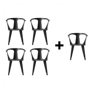 &tradition - Aktionsset 4+1 In Between Chair SK1