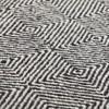 GAN - Sail Gan Spaces Teppich  - schwarz/Handknüpftechnik: Dhurrie/wendbar/170x240cm
