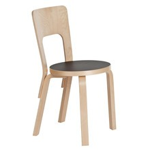 Artek - 66 Chair Clear Lacquered Base