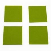 Hey-Sign - Hey-Sign Glasuntersetzer 4er Set quadratisch
