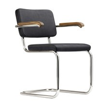 Thonet - S 64 PV Pure Materials Cantilever Armchair Walnut