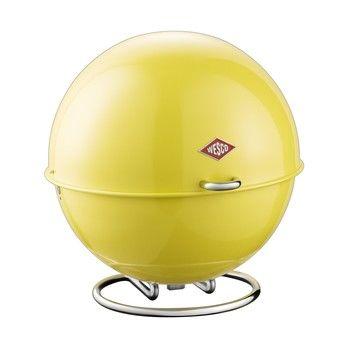 Wesco - Wesco Superball Aufbewahrungsbehälter - lemon yellow/26x26cm