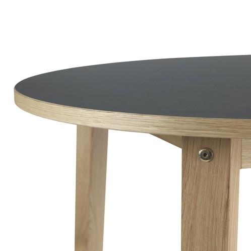 Normann Copenhagen - Slice Holz Esstisch Ø95cm