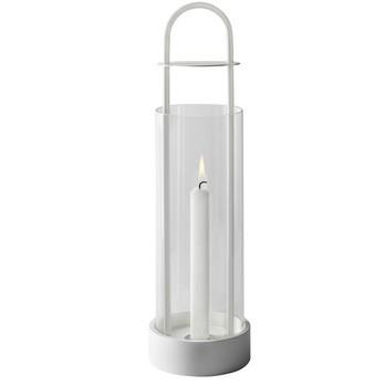 DesignHouseStockholm - Lotus Windlicht - weiß/H: 44cm
