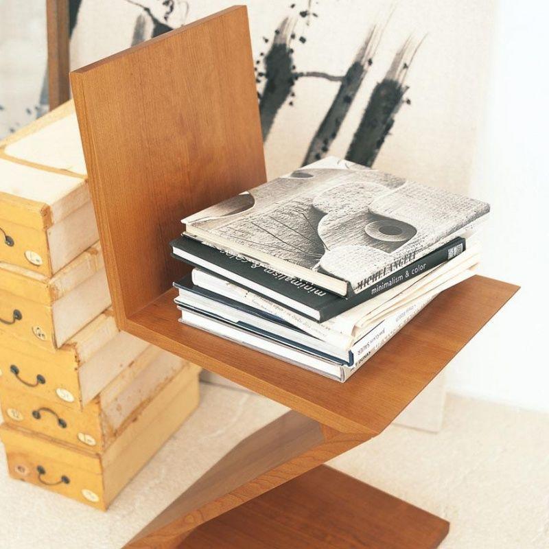 zigzag rietveld stuhl cassina. Black Bedroom Furniture Sets. Home Design Ideas