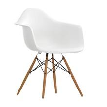 Vitra - Eames Plastic Armchair DAW Gestell Esche