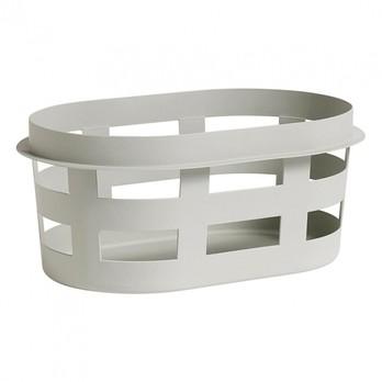 HAY - HAY Laundry Basket Wäschekorb S - hellgrau/57.5x37.5x24.5cm