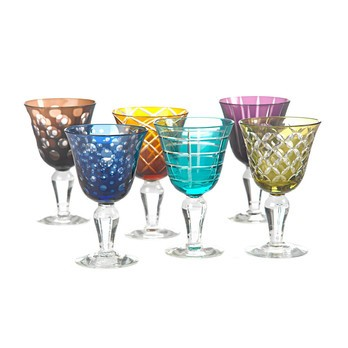 pols potten - Cuttings Weinglas 6er Set