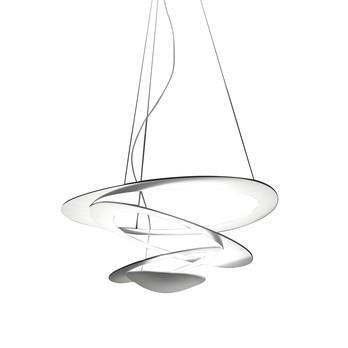 Artemide - Pirce Mini Pendelleuchte - weiß/matt/2950K/330Watt/LxBxH 69x67x23cm