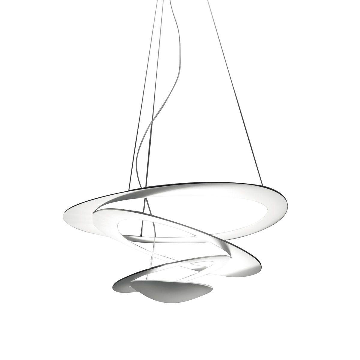 pirce mini suspension lamp  artemide  ambientedirectcom - artemide  pirce mini pendelleuchte  weißmattkwattlxbxhxxcm