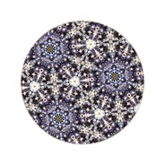 Moooi Carpets - Tapis ronde Festival Midnight