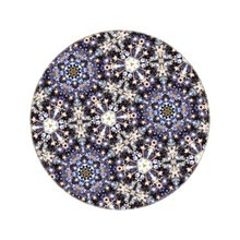 Moooi Carpets - Tapis ronde Festival Midnight