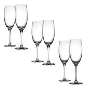 Alessi - Mami XL - Lot de 6 flûtes à champagne