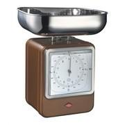 Wesco - Wesco Retro - Balanza con reloj