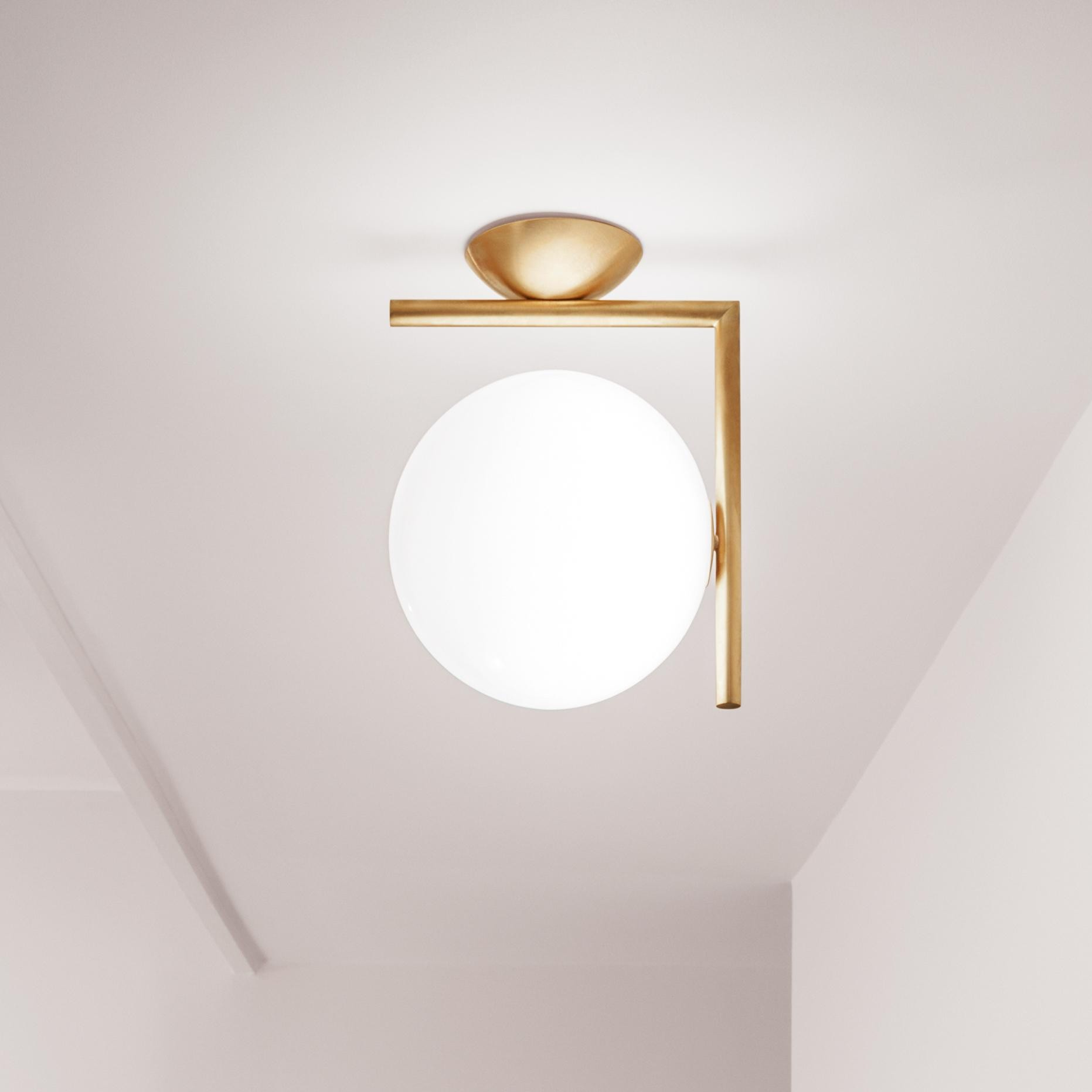 flos ic c w1 applique murale plafonnier ambientedirect. Black Bedroom Furniture Sets. Home Design Ideas