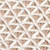 GAN - Raw Pouf groß - weiß/Schaumgummi/LxBxH 148x78x38cm