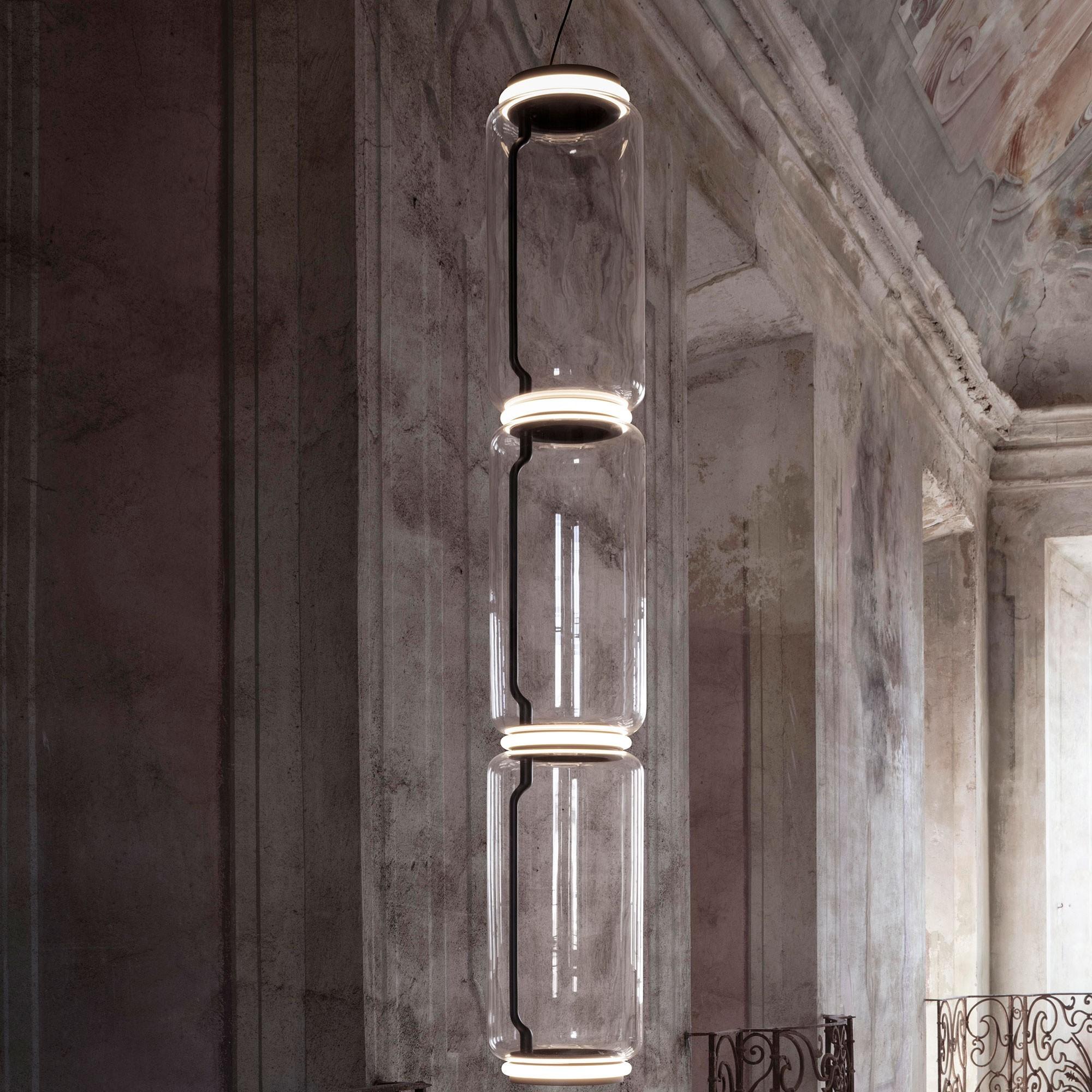 Flos Noctambule Low Cylinder LED Suspension Lamp