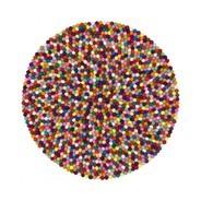 myfelt - Lotte - Alfombra de bolas de fieltro