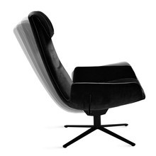 Freifrau - Amelie Lounge Chair X-Base Rocker-Tilting